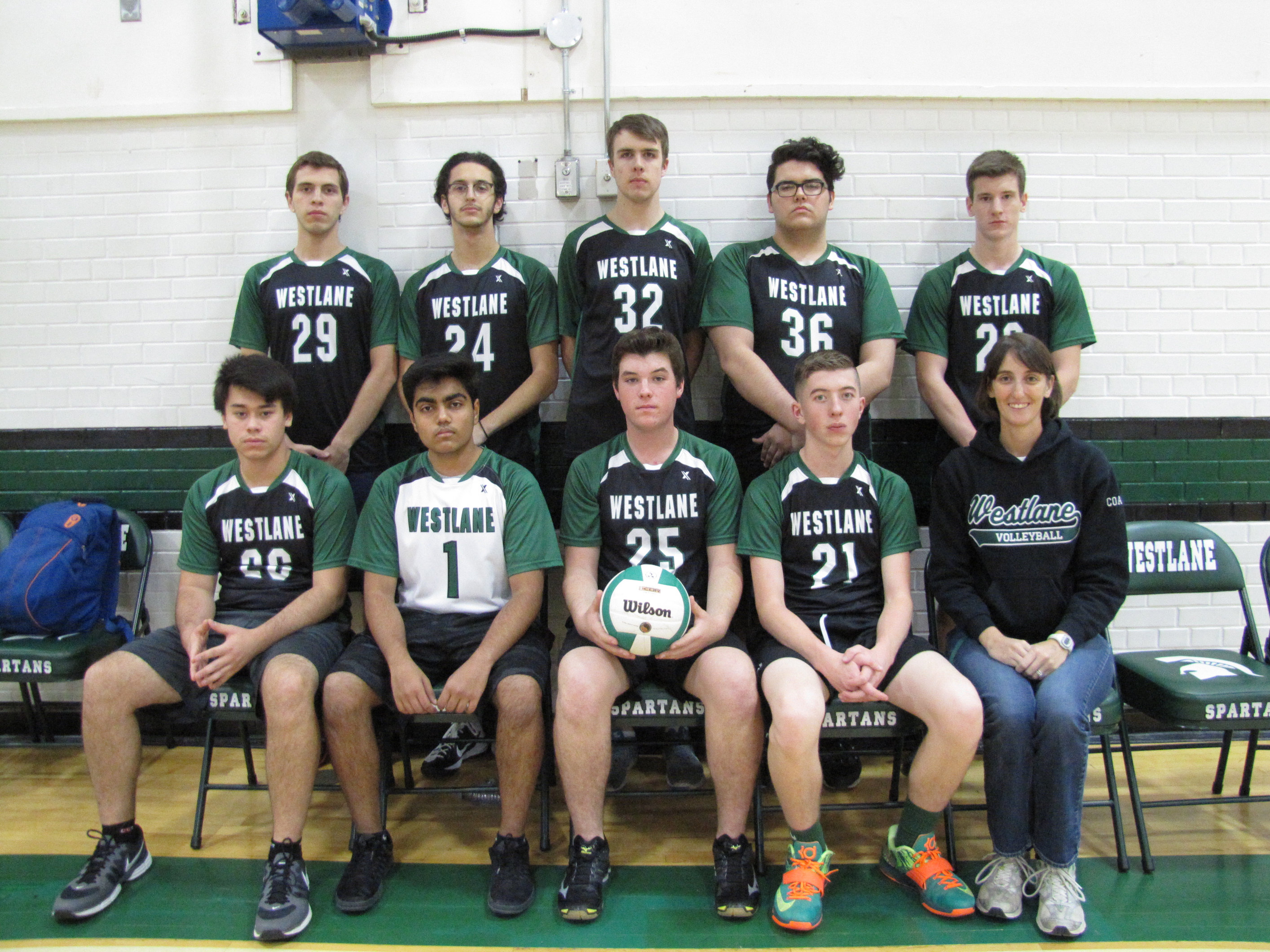 Sr. Boys Volleyball 2016-2017